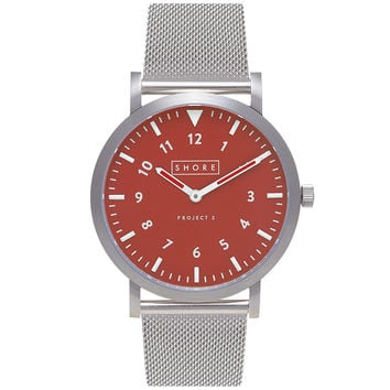 Shore Projects - Project 3 Camber Stainless Steel Mesh Watch