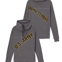 Army Cowl-Neck Pullover - PINK - Victoria's Secret