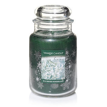 In A Winter Wonderland© : Large Classic Jar Candles : Yankee Candle