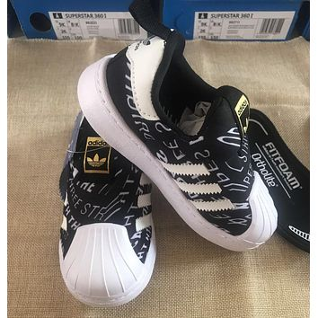 ADIDAS Girls Boys Children Baby Toddler Kids Child Durable Print Sneakers Sport Shoes