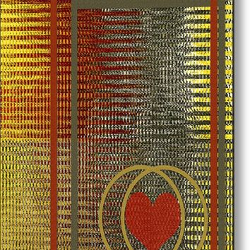 Portrait Of A Heart Metal Print By Ben And Raisa Gertsberg