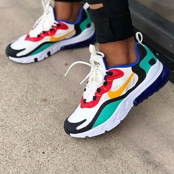 NIKE Women Men AIR MAX 270 REACT Gym shoes