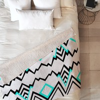 Elisabeth Fredriksson Wicked Valley Pattern 1 Fleece Throw Blanket