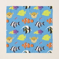 Clownfish and Friends Scarf