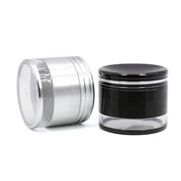 Grinder 63mm with transparent container