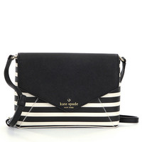kate spade new york Fairmount Square Large Monday Striped Cross-Body Bag | Dillards