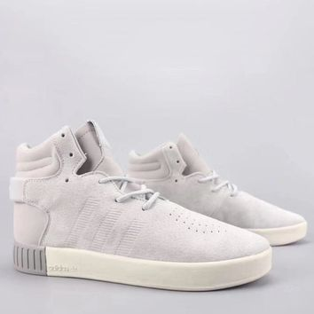 Adidas Tubular Invader Strap Fashion Casual High-Top Old Skool Shoes-3