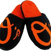 Click to view larger image Have one to sell? Sell now Baltimore Orioles MLB Licensed Embroidered Big Logo Men's Slippers All Sizes (XL)