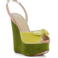 Meridith wedges | Charlotte Olympia | Matchesfashion.com