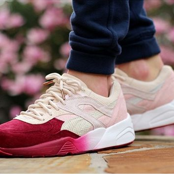 Ronnie Fieg x Puma Tokyo Sakura Project Leisure Sports shoes