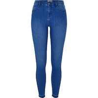 Light blue wash Amelie super skinny jeans