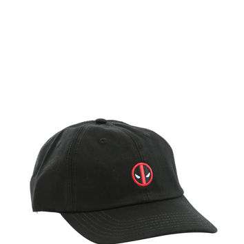 Marvel Deadpool Logo Dad Cap