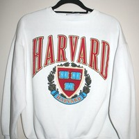 BeWorn — Vintage Grey University of Harvard Jumper 2