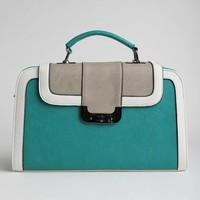 Britannia Park Colorblock Satchel