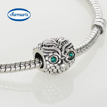 Antique Silver Charm Animal & Natural European Charms Silver Beads For Snake Chain Bracelet DIY Fashion Women Jewelry