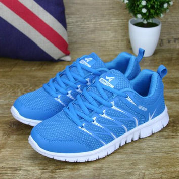 Woman casual shoes breathable shoes zapatillas mujer 2016 hot fashion flat with women shoes tenis fashion style mesh shoes women