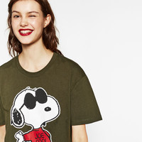 UNGENDERED SNOOPY TOP DETAILS