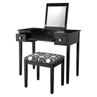 Kayden Black Vanity Set