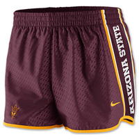 Women's Nike Arizona State Sun Devils College Chainmaille Pacer Shorts