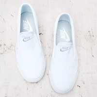 """""""Nike"""" Classic Casual White/Black Canvas Shoes"""