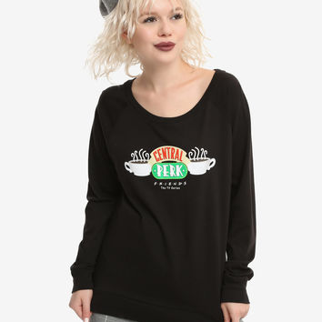 Friends Central Perk Girls Long-Sleeve T-Shirt