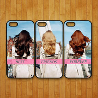 iphone 5S case,3pcs,Best Friends forever,brunette,blonde,iphone 5 case,iphone 5C case,iphone 4 case,iphone 4S case,ipod 4 case,ipod 5 case