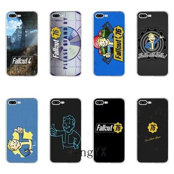 Stylish game Fallout 76 Slim silicone TPU Soft phone case For Sony xperia XA Z Z1 Z2 Z3 Z4 Z5 Premium Compact M2 M4 M5 E3 T3