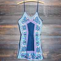 spring into summer romper - navy