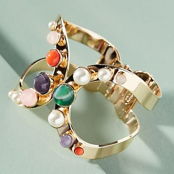 Playing Marbles Hinged Cuff