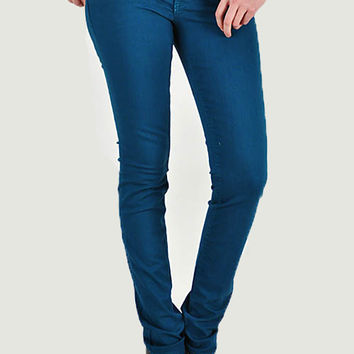 Bold Color Skinny Jeans