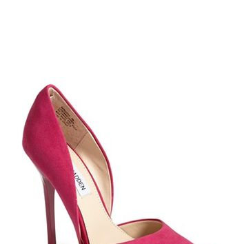 Women's Steve Madden 'Varcityy' Suede Pointy Toe Pump,