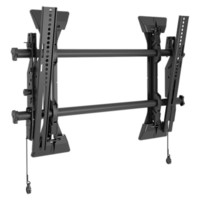 Chief Fusion Wall Tilt MTM1U Wall Mount for Flat Panel Display - 26 to 47 Screen Support - 125 lb Load Capacity - Black