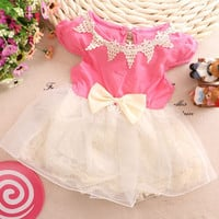 Bow Summer Princess Dress
