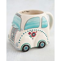 Go Happy Car Folk Mug