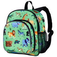 Olive Kids Wild Animals Pack 'n Snack Backpack - 40080