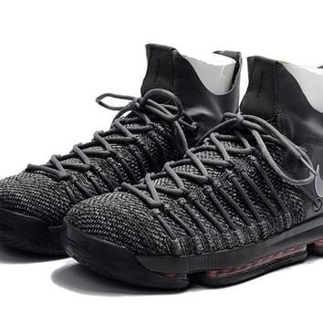2017 Nike Zoom KD 9 Kevin Durant 9 ¢ù Cool Gray Basketball Shoes
