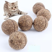 Pet Cat Natural Catnip Treat Ball