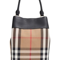 Burberry House Check Bucket Bag | Nordstrom