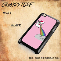 HELLO KITTY UNICORN Snap on 2D Black and White Or 3D Suitable With Image For Ipod Touch 4 Case