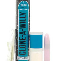 Clone-a-willy Glow in the Dark Kit - Blue