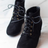 Black-Faux-Suede-Lace-Up-Boot