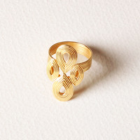Teardrop Ring/ 6, Stone & Novelty Rings