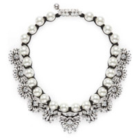 Shourouk Fawcett Necklace - Pearl Necklace - ShopBAZAAR