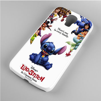 lilo and stitch disney Samsung Galaxy S4 Case