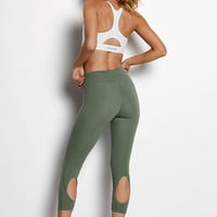 Anytime Cotton Cutout Capri - Victoria Sport - Victoria's Secret