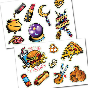 TopatoCo: Witches N' Food Sticker Set