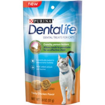 Tasty Chicken Flavor Dental Cat Treats 1.8 oz - Kmart
