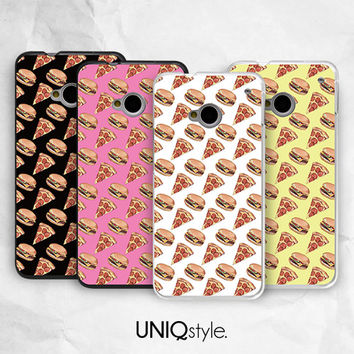 Cute Pizza burger phone case for iPhone 6, iPhone 4/4s/5/5s/5c, Samsung S4/S5/Note4, Sony Xperia, LG Nexus, Nokia Lumia, HTC One M7/M8, Motorola - i19