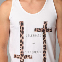 Urban Outfitters - Civil Be Different Cheetah Tank Top