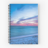 'If By Sea' Spiral Notebook by Sean Ramsey